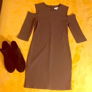 Olive Green Party Dress